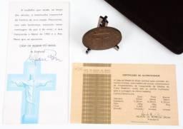 Medalha De Bronze Do Cristo Redentor - Casa Da Moeda 1981