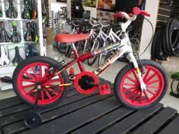 Bicicleta infantil aro 16 masculina