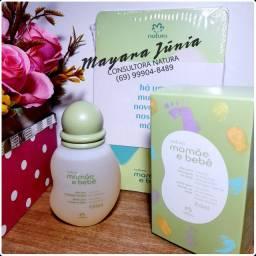 Óleo para massagem Mamãe e bebê natura