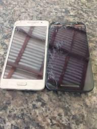 Vendo 2 celular queimado a tela