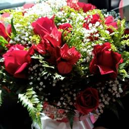 Buquês de rosas