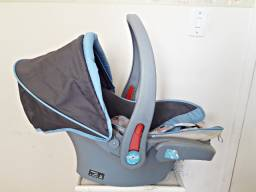 Bebê Conforto Azul Cosco Travel System Reverse Com Cinto de 3 Pontos