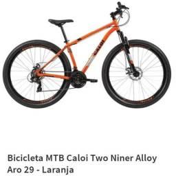 Bicicleta 29 Bike MTB 21 marchas Caloi aro 29 Câmbio de 21 marchas Shimano