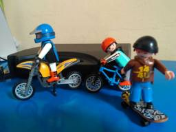 Playmobil Moto, bike e skate Ref. 5930 e 4754