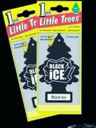 Aromatizante Para Carro Little Trees Original Usa Black Ice