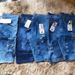 Bermudas 100% jeans