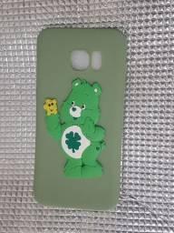 Case (capa) Samsung Galaxy S7 edge - Ursinho boa sorte - Ursinhos carinhosos