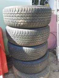 4 Pneus Dunlop 265/60/18 Carcaça 2020