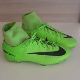 Chuteira Nike Mercurial cano longo
