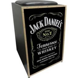Cajon Acústico Jack Danniels
