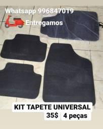 tapete para carro universal 35$o kit  (entregamos)