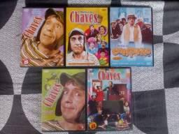 Box DVDs Turma do Chaves - Faço ML.
