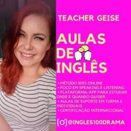 Aulas de Inglês- crianças, adolescentes e adultos