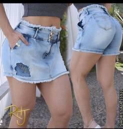 Short saia empina bumbum