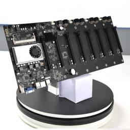 Placa Mãe com Processador BTC-37 Miner Mineração
