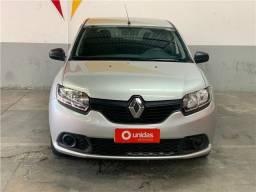 Título do anúncio: Renault Sandero 1.0 12V Sce Flex Authentic Manual