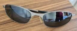 Óculos Oakley A Wire Cinza - Metal Original Colecionador