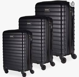 Vendo- conjunto de malas, P,M e G