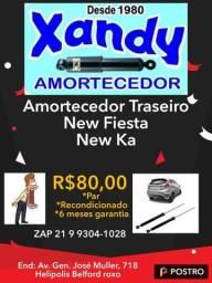Par de amortecedores traseiro New Fiesta / Novo Ka