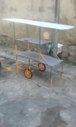 Barraca tipo trailer