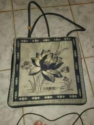 Bolsa de praia feita à mão