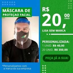 Epi - Máscara De Plástico De Proteção - Face Shield
