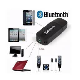 Receptor Áudio Bluetooth USB e P2