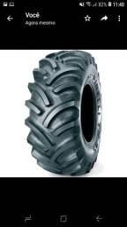Pneu 12.4x24 10 lonas Pirelli - pneu novo