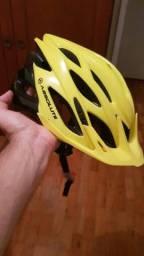 Capacete Absolute Mountain bike MTB pouco usado
