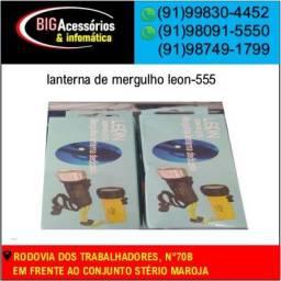 COD:0101 lanterna de mergulho leon-555