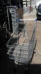 carrinhos para mercado usados em otimo  estado 15 peças