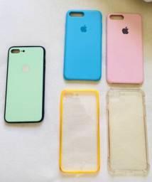 Capinhas iPhone 7 e 8 Plus
