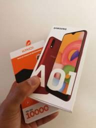 Galaxy A01 - 32GB - Telão - NF garantia