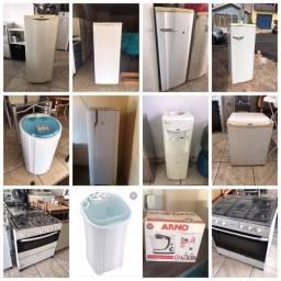 Geladeiras/fogões/maquinas venham confeir