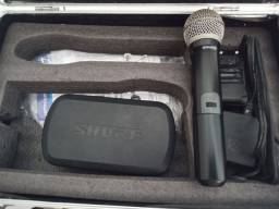 OFERTA - Microfone sem fio SHURE.