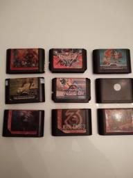 Lote de jogos originais de mega drive. Preço baixo!