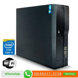10 Computadores Core i3 3° geração 3.3ghz 4gb Memó 500gb SSD Hdmi - Empresa e Home Office