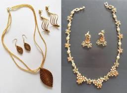 Kit bijuterias usadas e bem conservadas