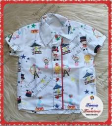 Camisa Circo (1 e 2 anos)