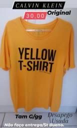 1 Camiseta marca CALVIN KLEIN tam GG original
