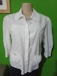 Camisa Feminina Branca - Tamanho M