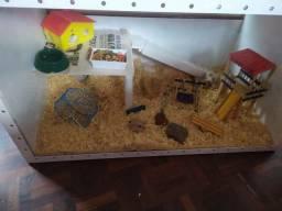 Gaiola/Viveiro para hamster