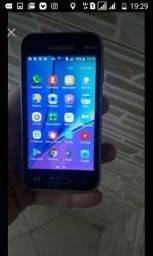 Samsung j1 com capa e película e carregado 200reas