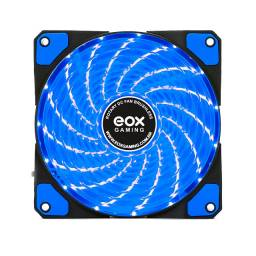 Cooler Fan Led 120mm Gabinete Ventoinha Azul Eox Gaming