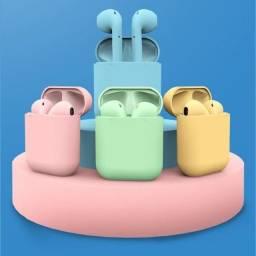 Fone Intra-Auricular Sem Fio Bluetooth i12 Tws Inpods Airpods