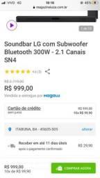 LG Soundbar SN4 / Home theater