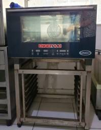 Forno Combinado ChefTop Serie E 3 GNs 1/1 Power - Eletrico
