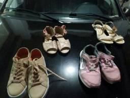 Sapato 32 ao 34 de menina  muito conservados