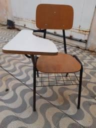 Cadeira universitária imbuia