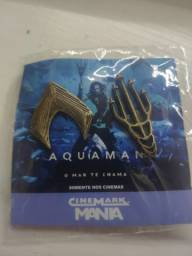 Título do anúncio: Broche Aquaman Pin Bottons Colecionador Cinemark